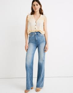 """11"""" High-Rise Flare Jeans in Arbordale Wash"""