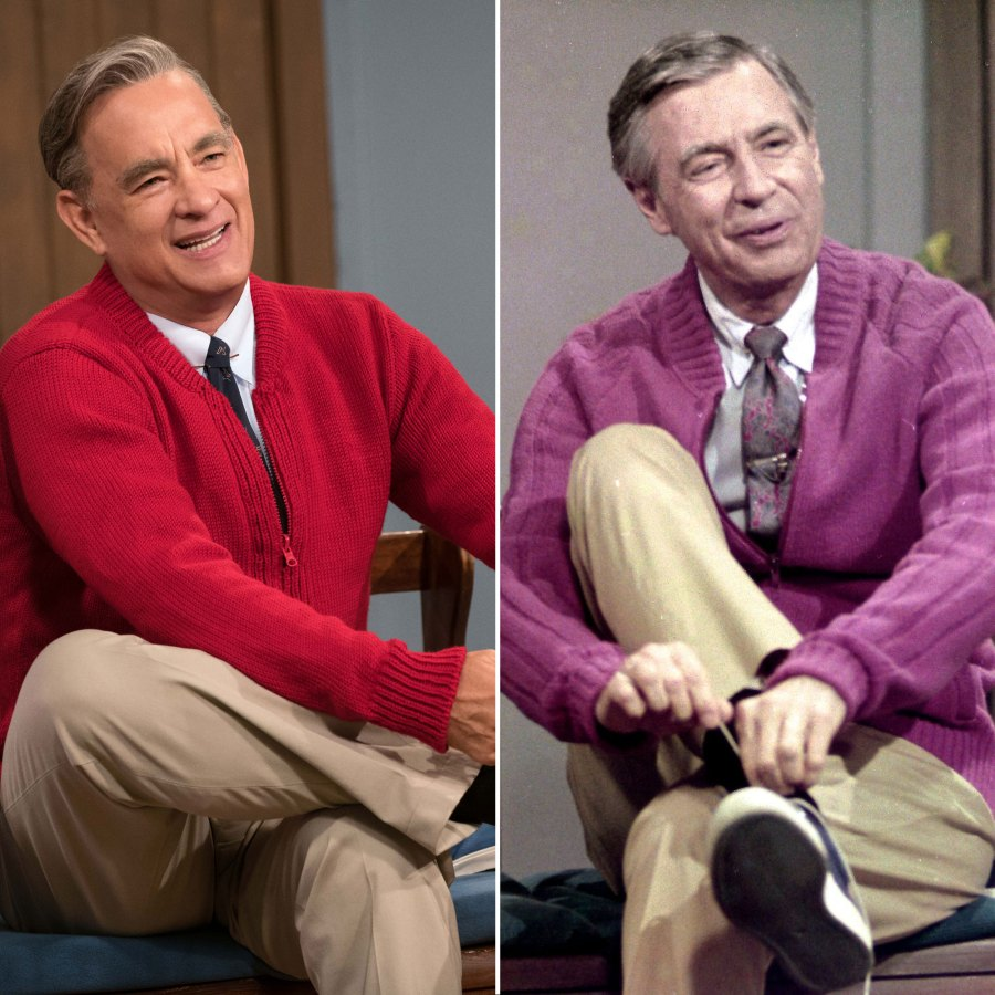 Tom Hanks Fred Rogers A Beautiful Day In The Neighborhood Films Based on Real Actors Lives