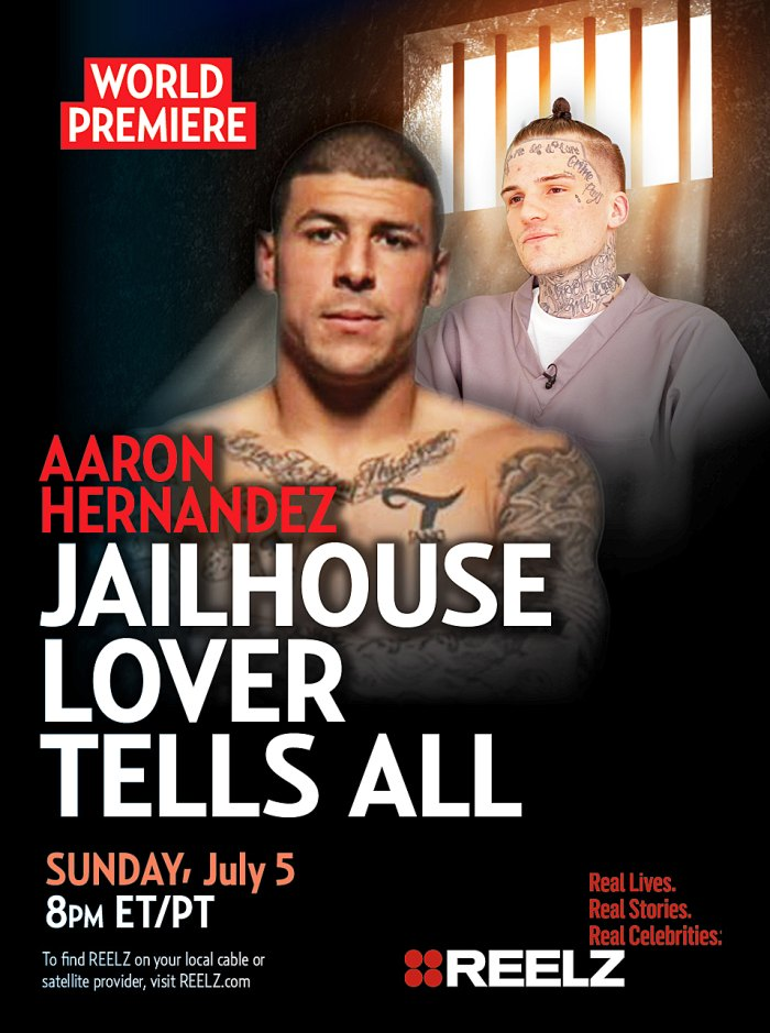 Aaron Hernandez Jailhouse Lover to Tell All in Bombshell REELZ Special