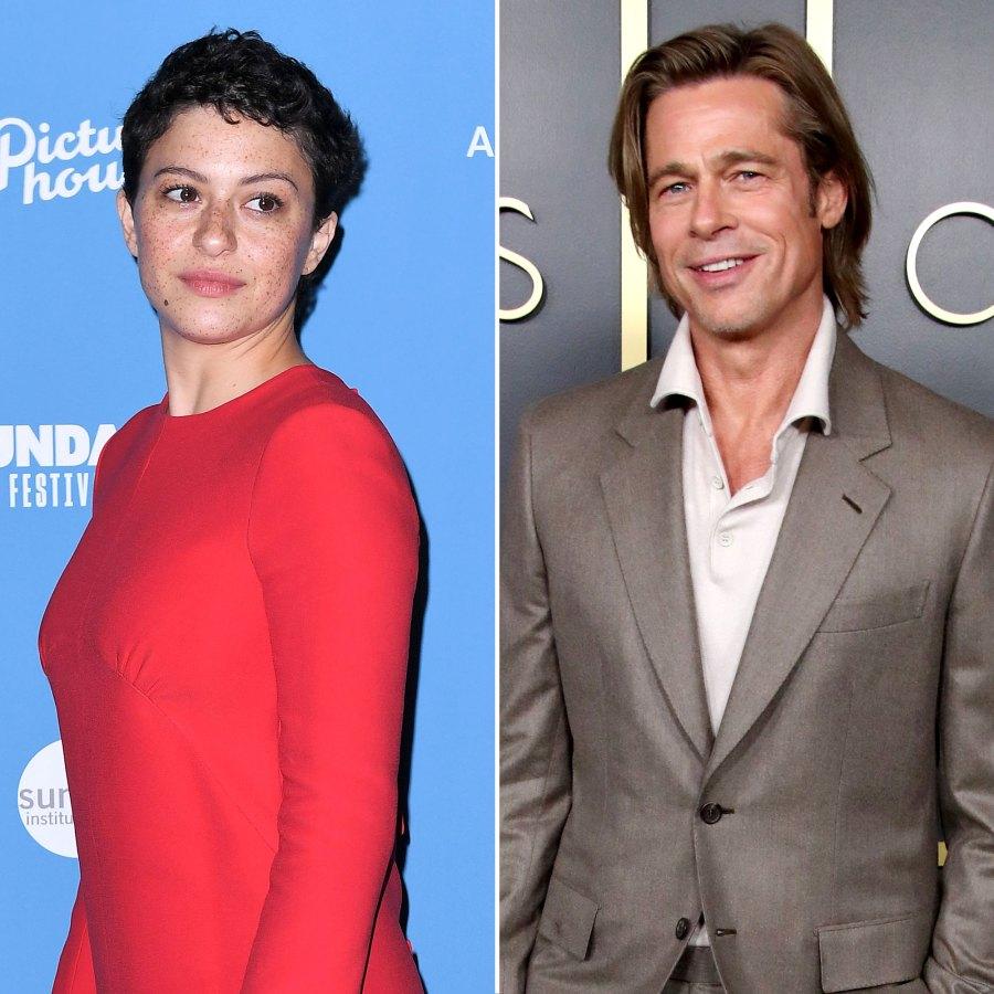 Alia Shawkat Addresses Brad Pitt Dating Rumors