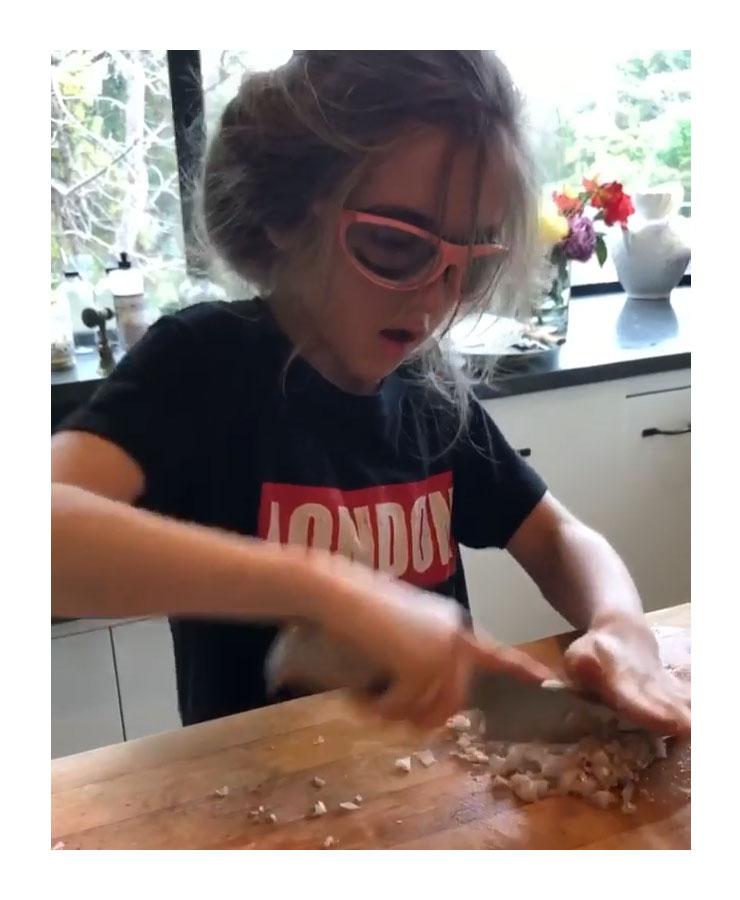 Alicia Silverstone Shows Off Son Bear Impressive Kitchen Skills