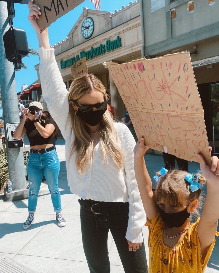 Amanda Stanton Defends Bringing Daughters to Protest Supporting Black Lives Matter Movement