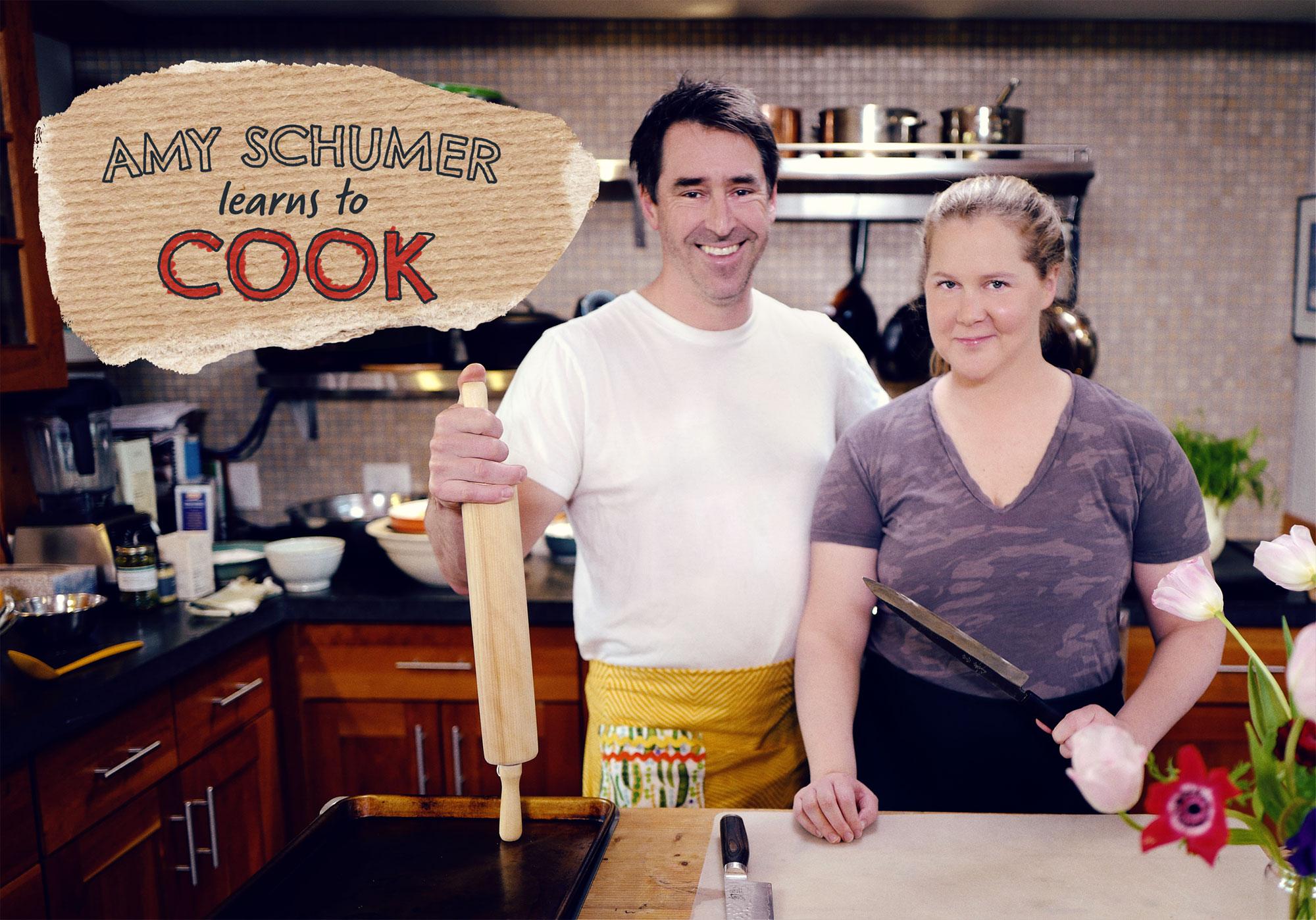Amy Schumer Calls Cooking Show With Husband Chris Fischer Rewarding