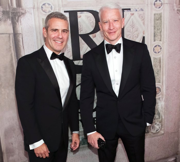Andy Cohen and Anderson Cooper Sons Virtually Meet for the First Time