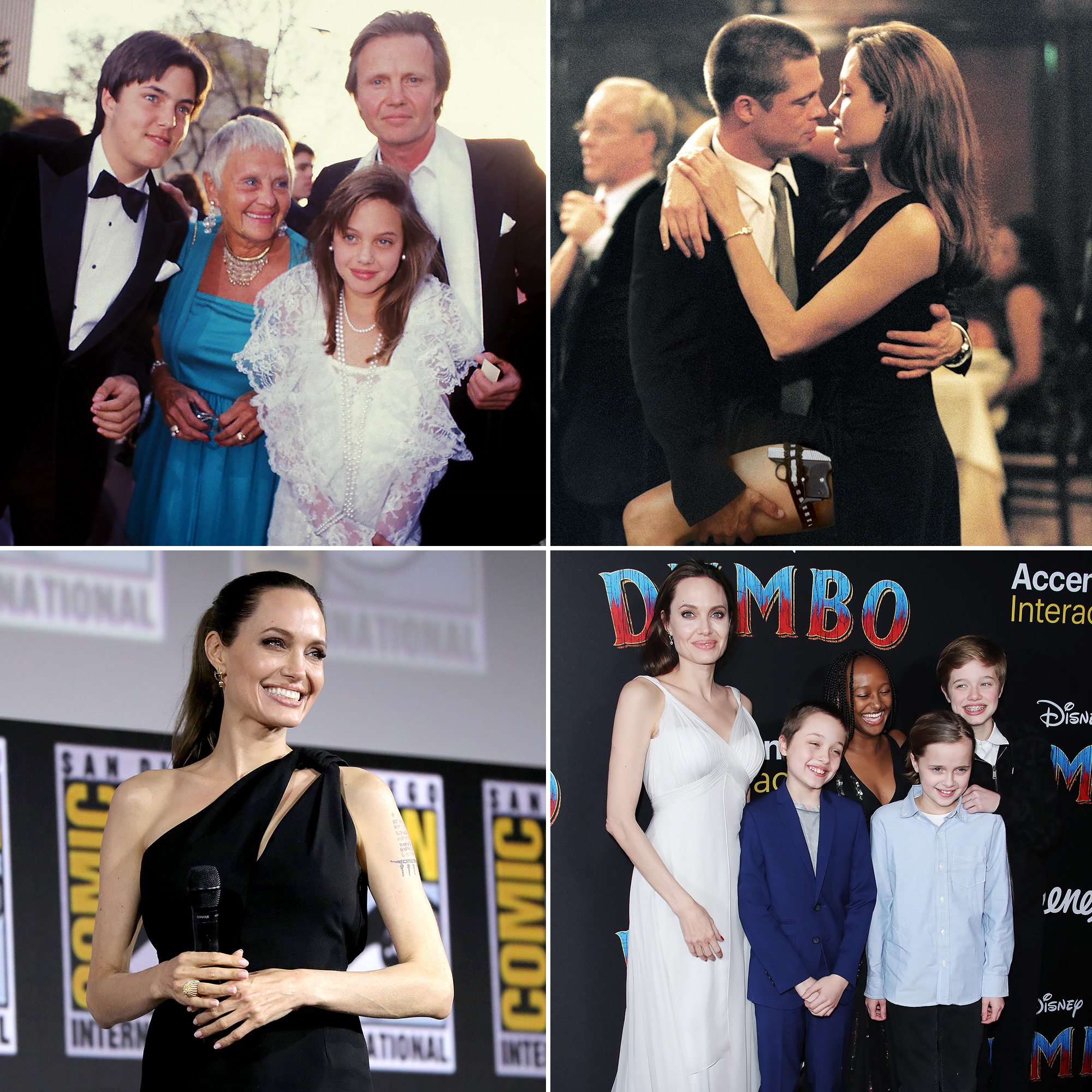 Angelina Jolie Through The Years From Movie Vixen To Mom