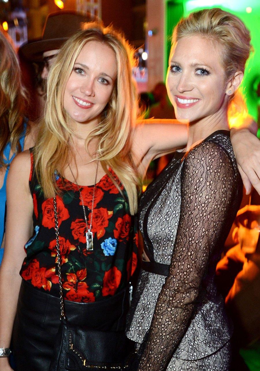 Anna Camp and Brittany Snow Celeb BFFs