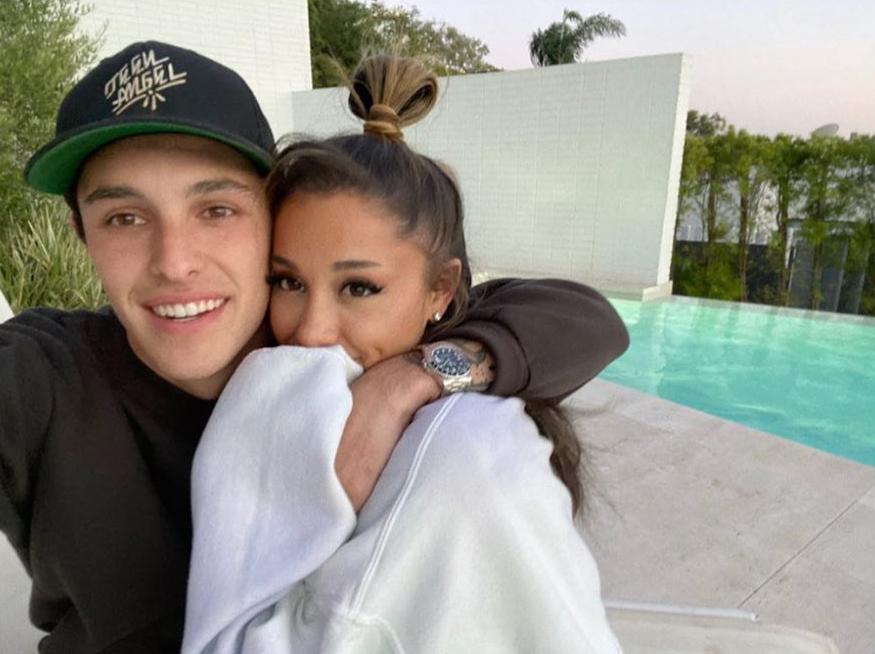 Ariana Grande Celebrates Her 27th Birthday by Going Instagram Official With Boyfriend Dalton Gomez