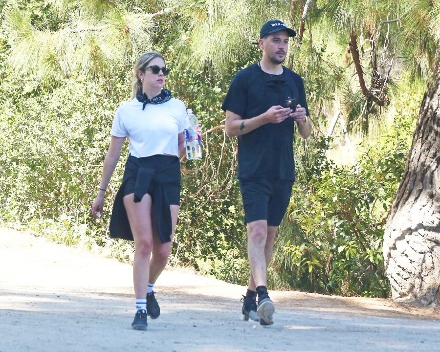 Ashley Benson and G-Eazy Hold Hands While Grocery Shopping in Los Angeles