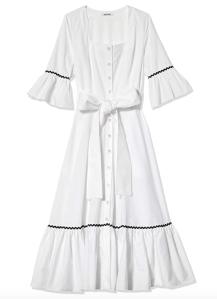 Batsheva Delsy Belted Dress