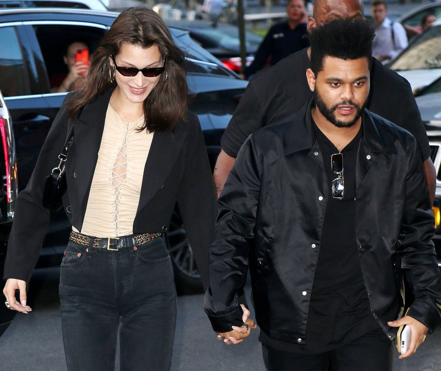 Bella Hadid and The Weeknd Have Been in Touch Holding hands