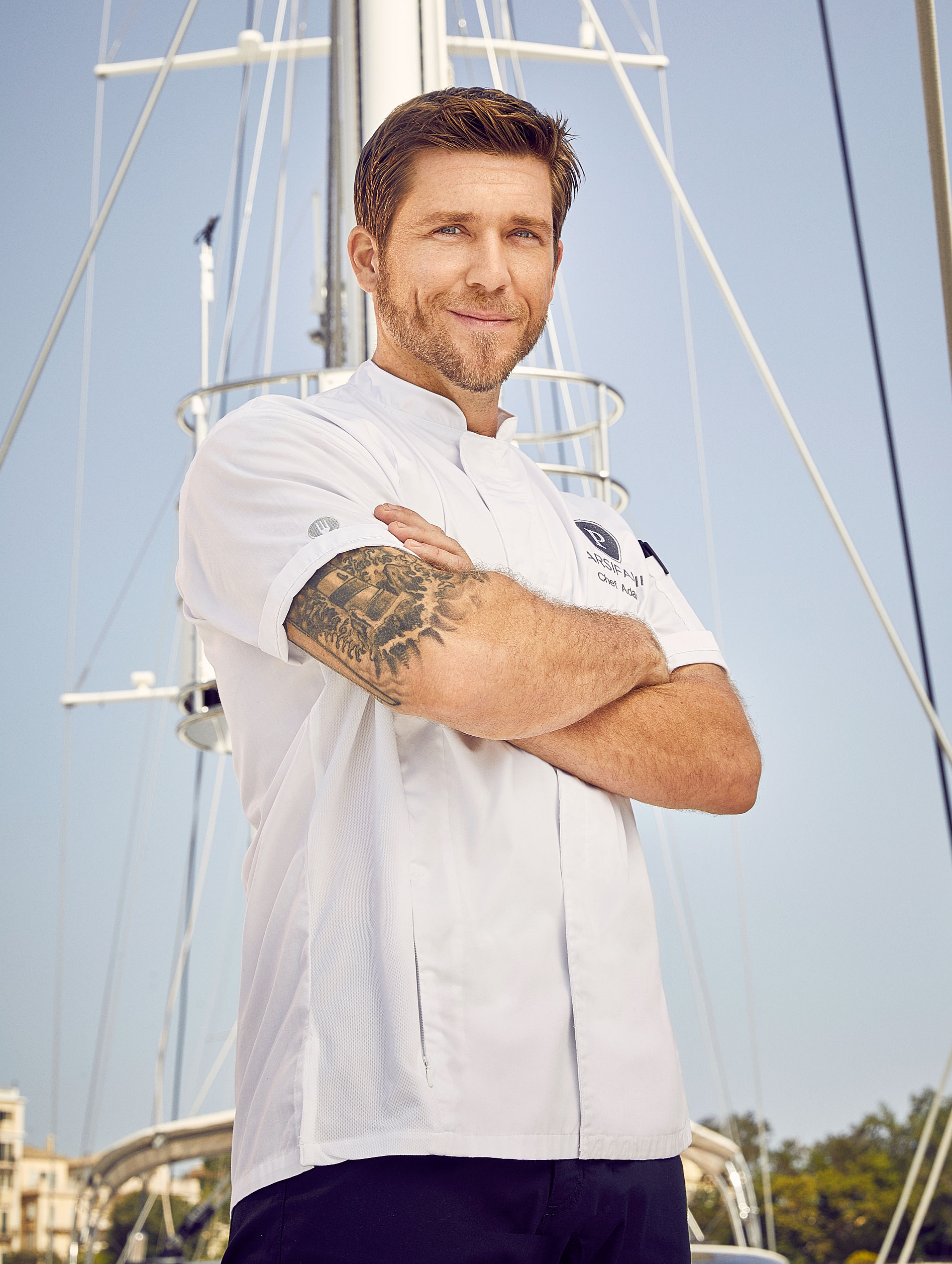 Below Deck Med Captain Sandy Throws Shade at Chef Adam