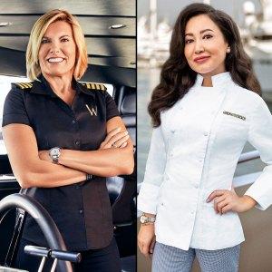 Below Deck Med Captain Sandy Was Shocked by Chef Mila Behavior