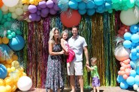 Best Balloons Jessica Hall Daughter Sophie 5th Birthday Party