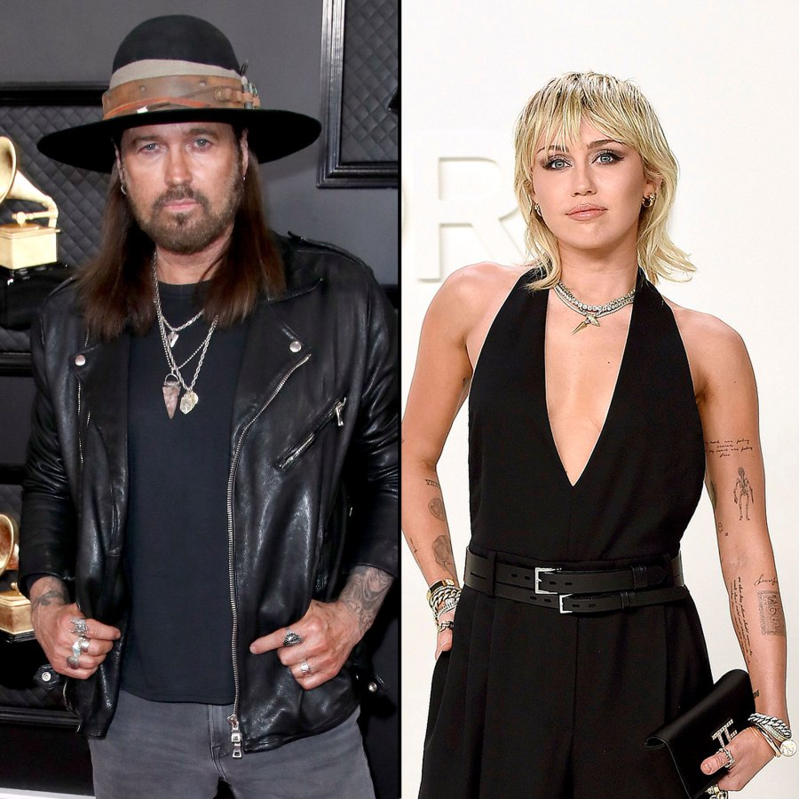 Billy Ray Cyrus Gushes Over Daughter Miley Cyrus