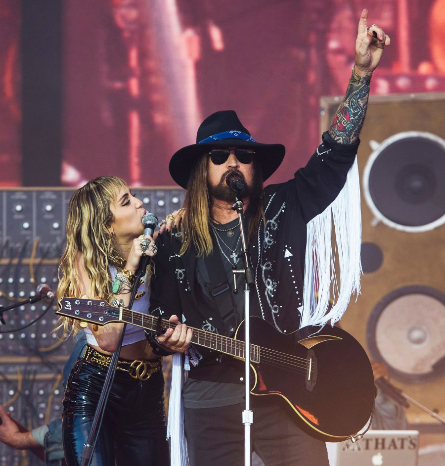 Billy Ray Cyrus Gushes Over Daughter Miley Cyrus Performing