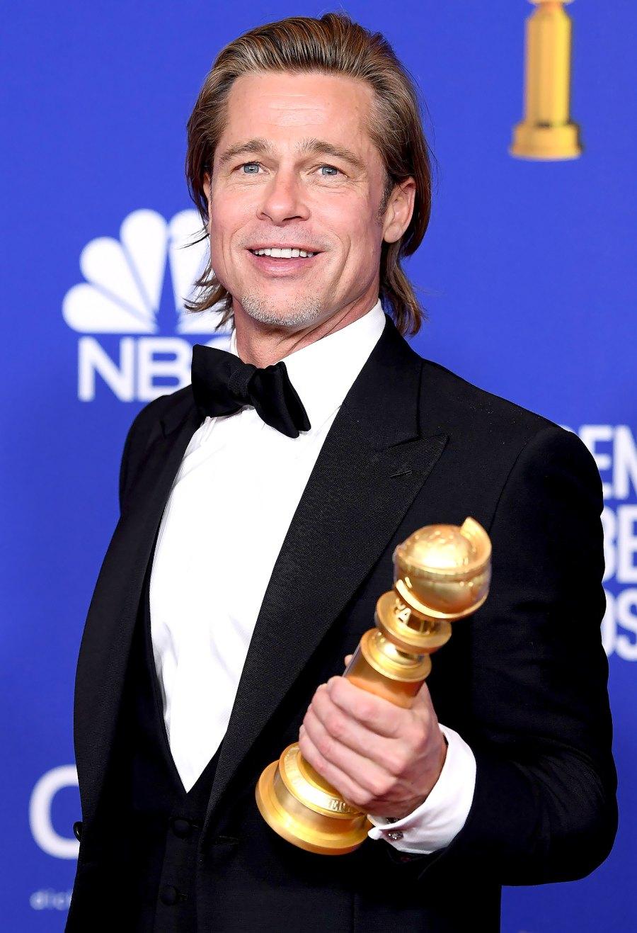 Brad Pitt Golden Globes 2020
