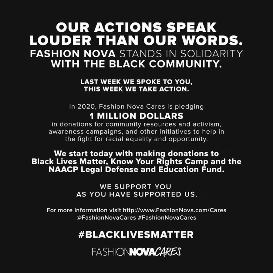 How Brands and Designers Are Supporting the Black Lives Matter Movement