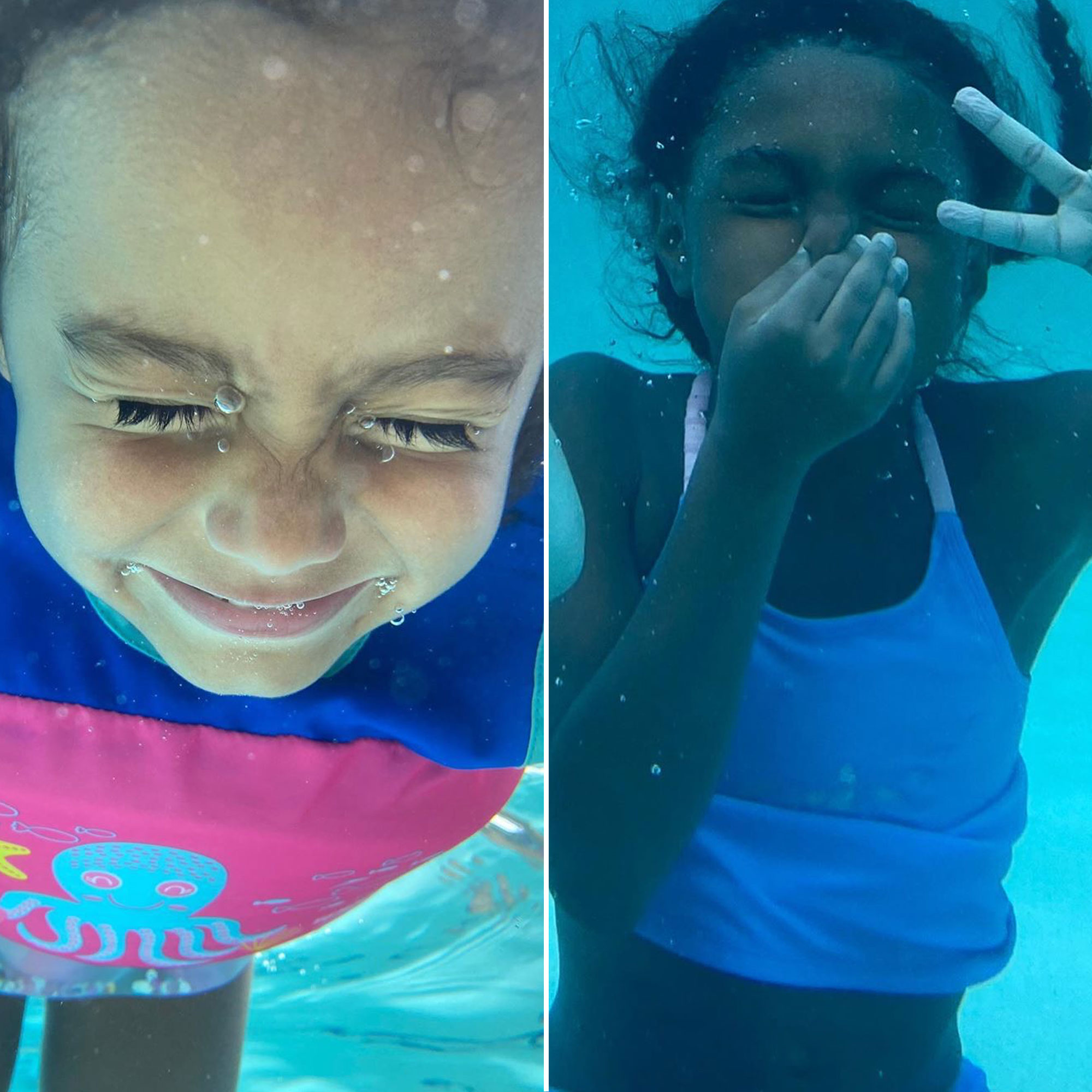 Celebrity Kids Playing In The Pool Summer 2020 Swimming Pics