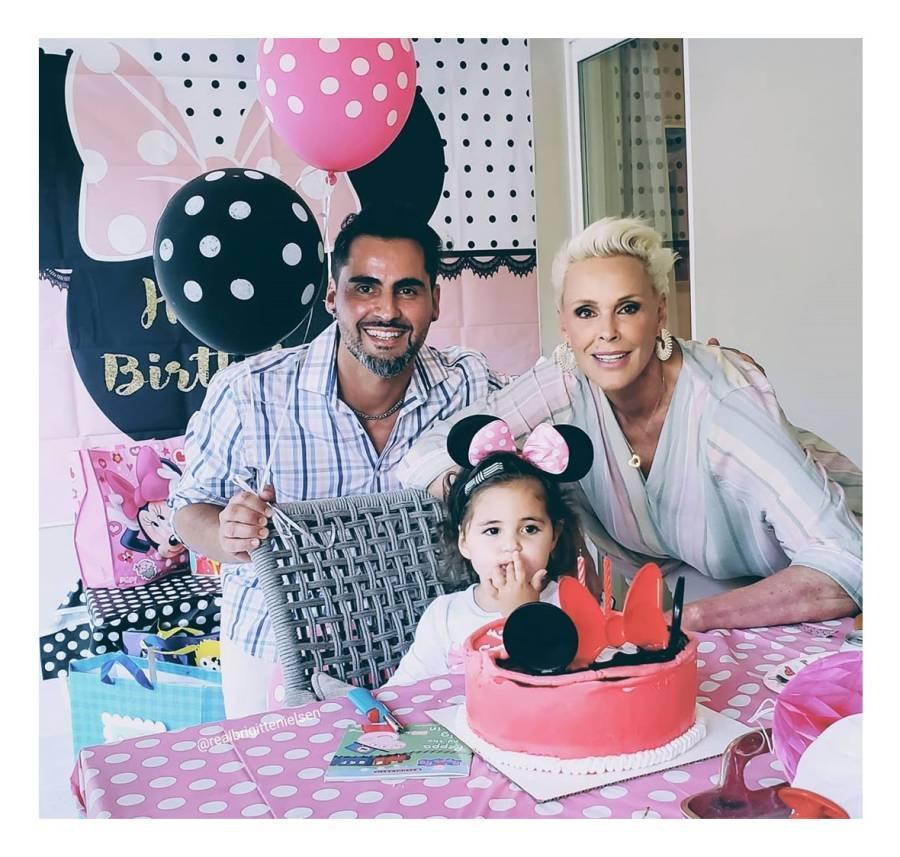 Brigitte Nielsen Family Quarantine Birthday