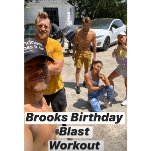 Brooks Laich Has Birthday Workout With Derek Hough After Julianne Hough Split