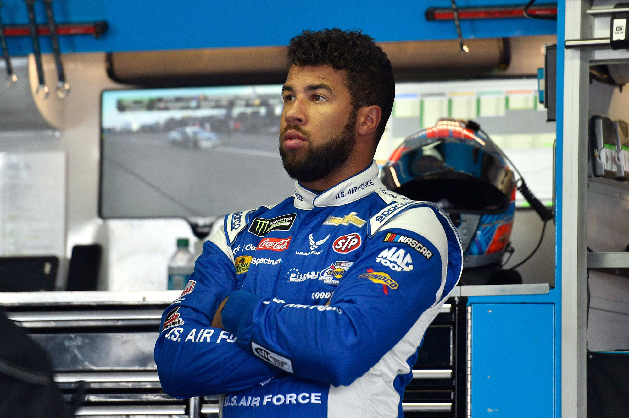 Bubba Wallace NASCAR Speaks Out Racism