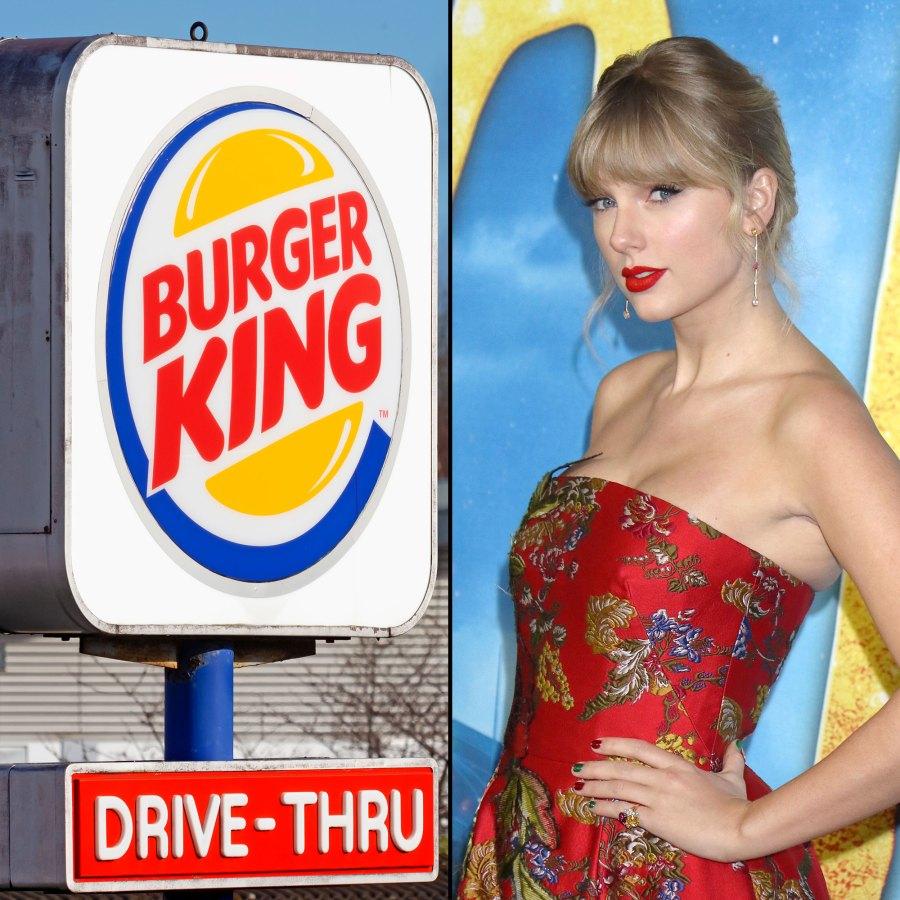 Burger King Trolls Taylor Swift