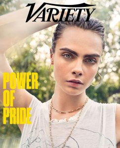 Cara Delevingne Stuns on Variety's Pride 2020 Issue
