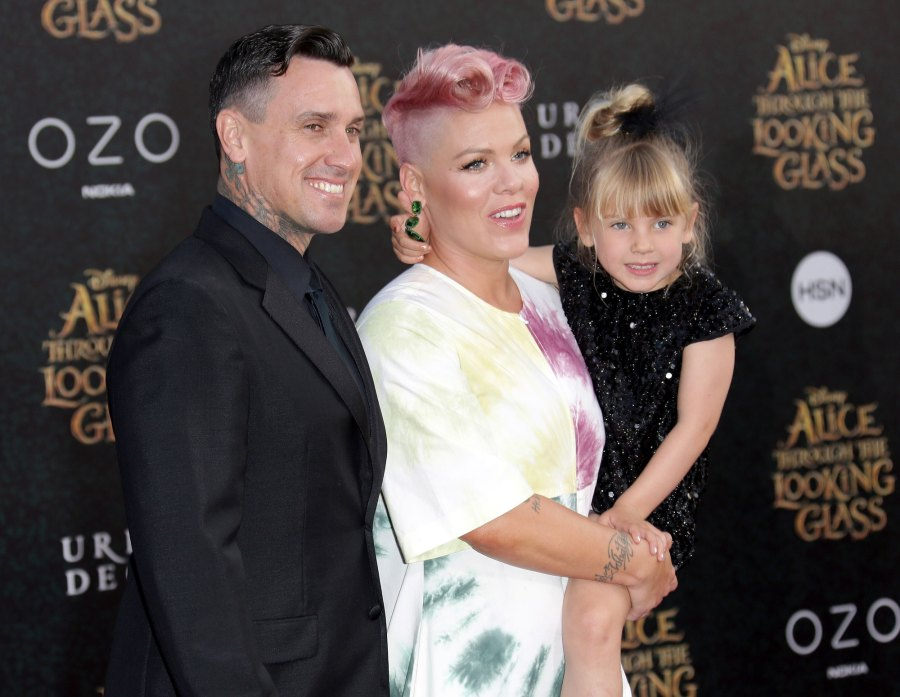 Carey Hart Thanks Wife Pink Daughter Willow 9th Birthday