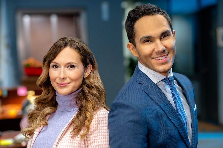Alexa PenaVega and Carlos PenaVega Picture Perfect Mysteries Celebrity Couples Who Starred in Hallmark Channel Movies Together