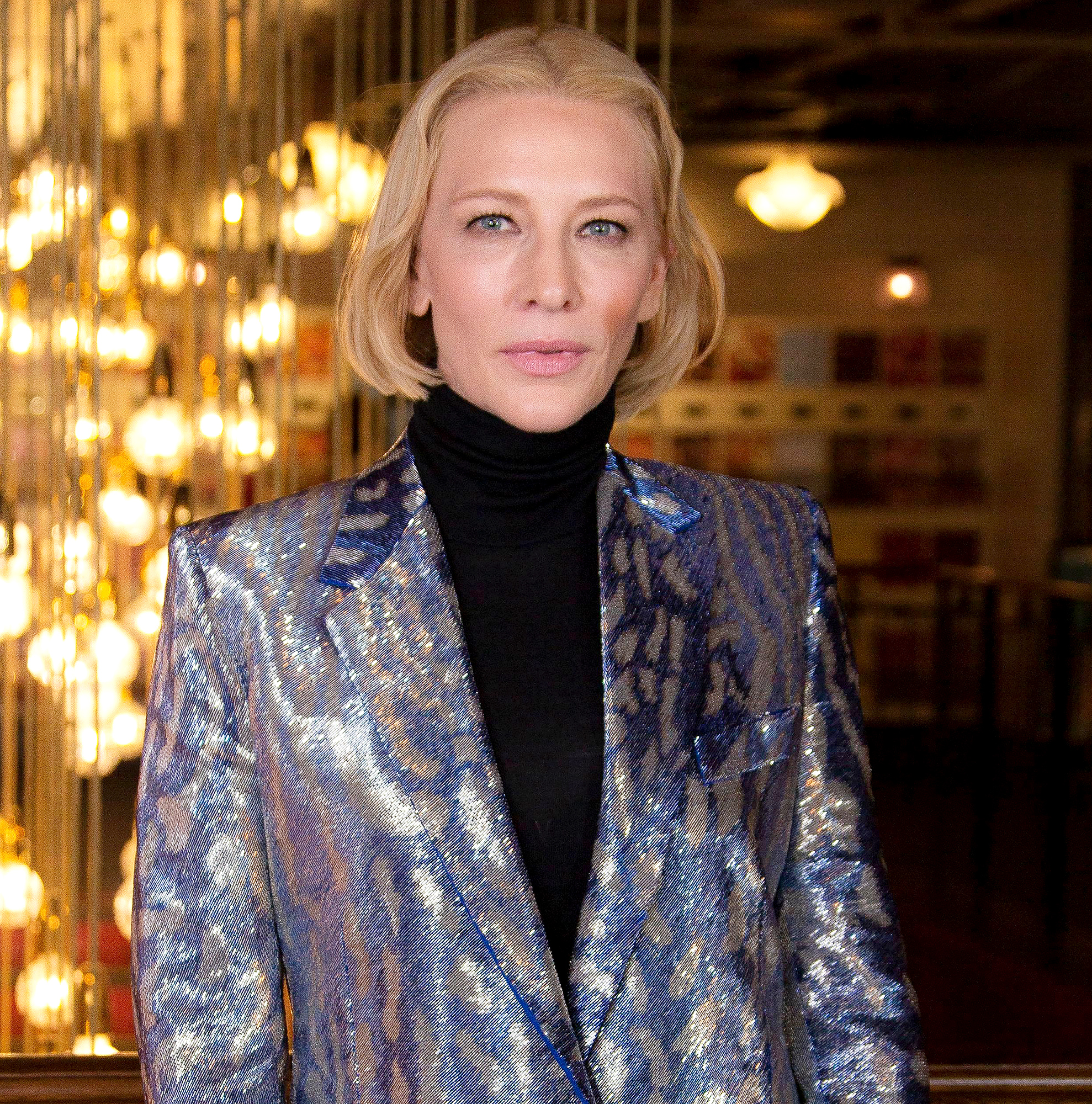 Cate Blanchett cut her head in chainsaw accident 1