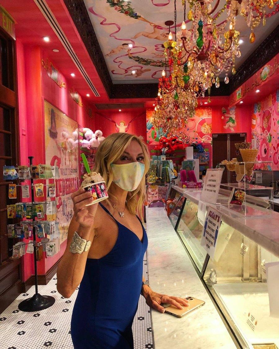 Celebrities Who Scream for Ice Cream Ramona Singer