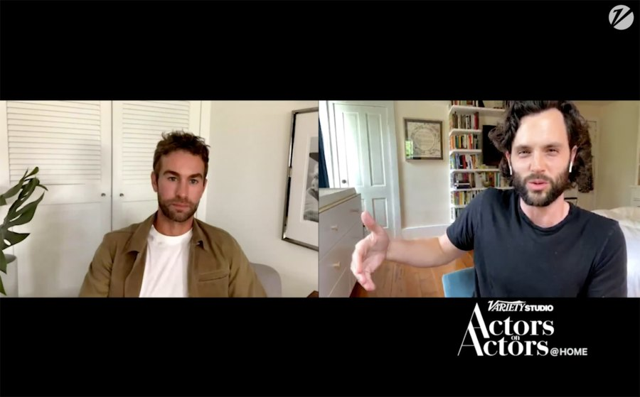 Chace Crawford and Penn Badgley Talk Gossip Girl Social Media