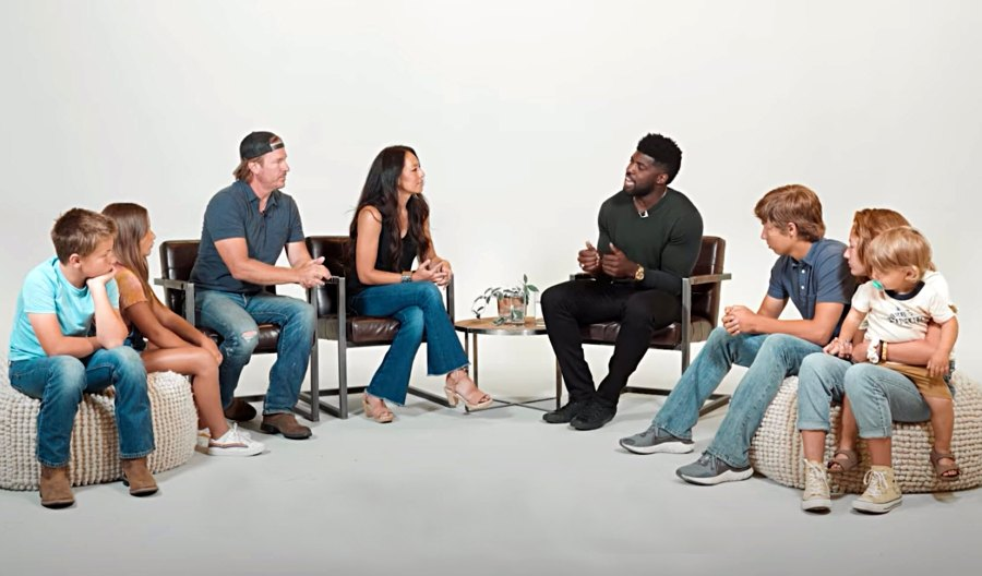 Chip Gaines Joanna Gaines 5 Kids Join Conversation About Race