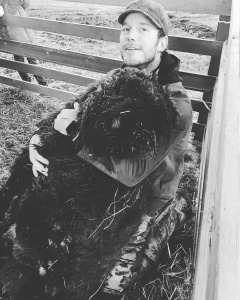 Chris Pratt Mourns Loss of Farm Animal Prince Rupert Ram