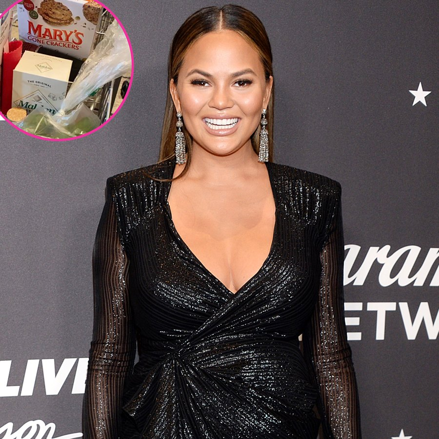 Chrissy Teigen Sends Perfect Healthy Bite Deliveries Her Pals