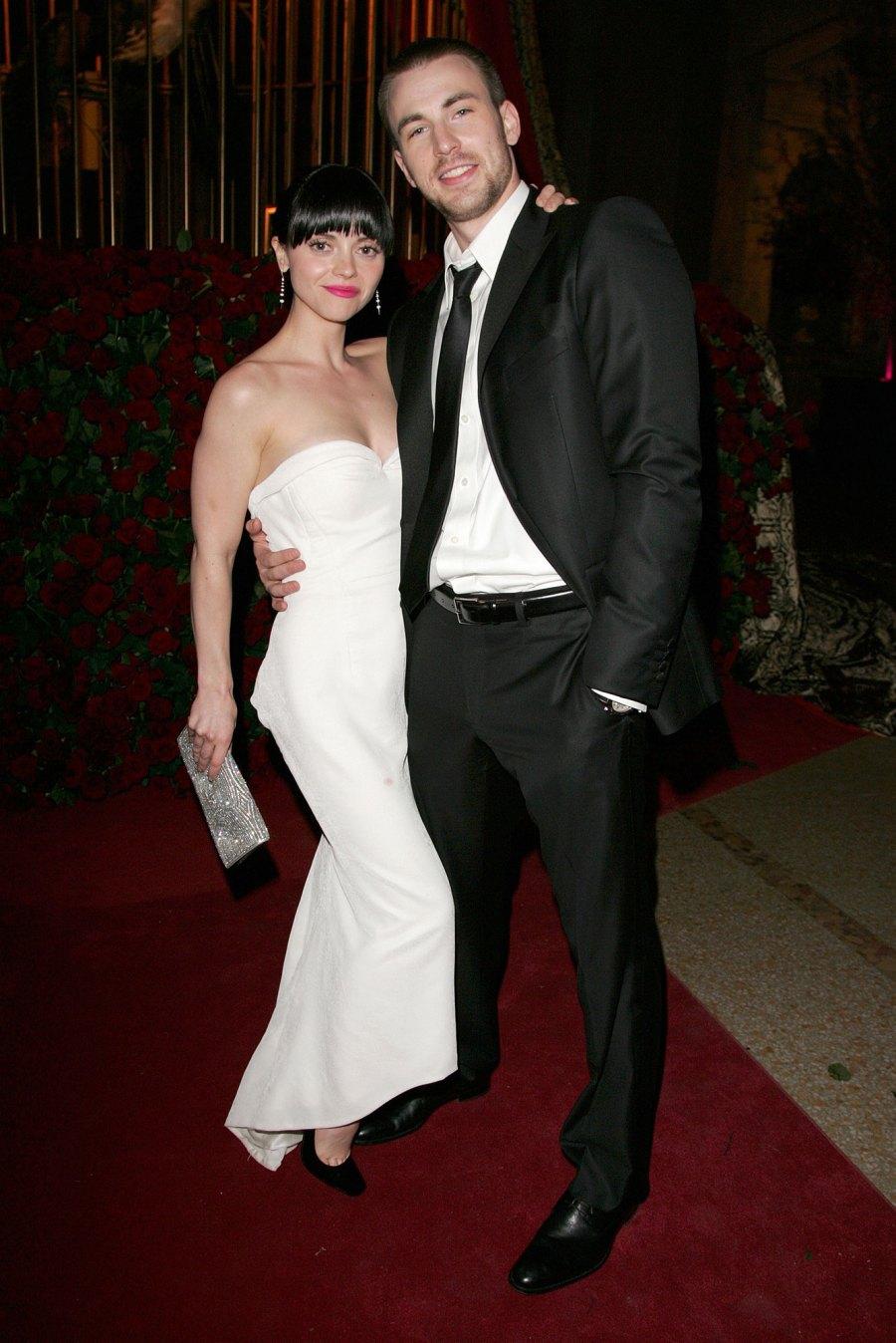 Christina Ricci 2007 Chris Evans Complete Dating History