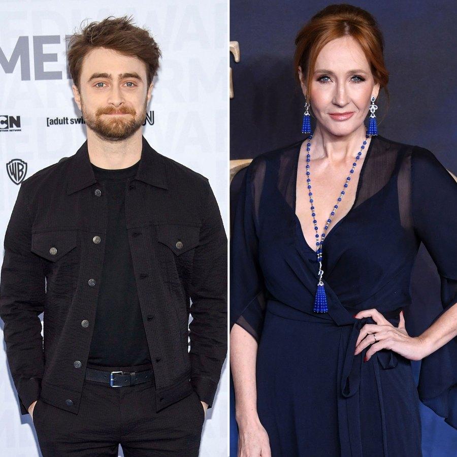 Daniel Radcliffe Responds to J.K. Rowling Anti-Trans Tweets