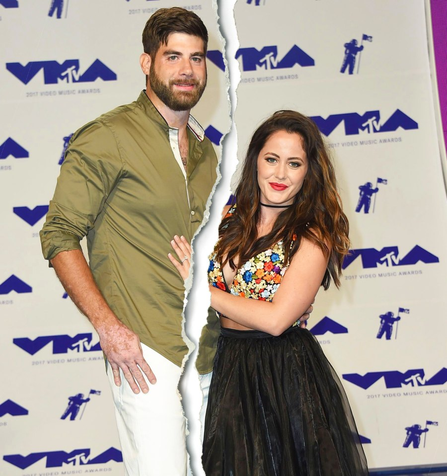 David Eason and Jenelle Evans Celebrity Splits Of 2020