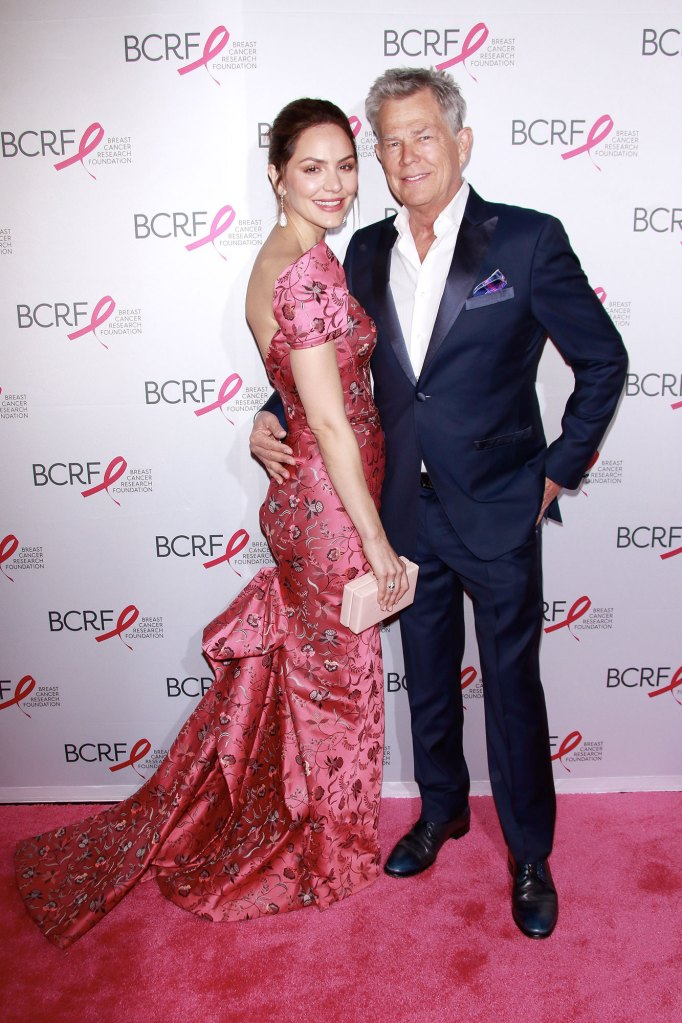 David Foster Gushes Over 'Magical' Wife Katharine McPhee