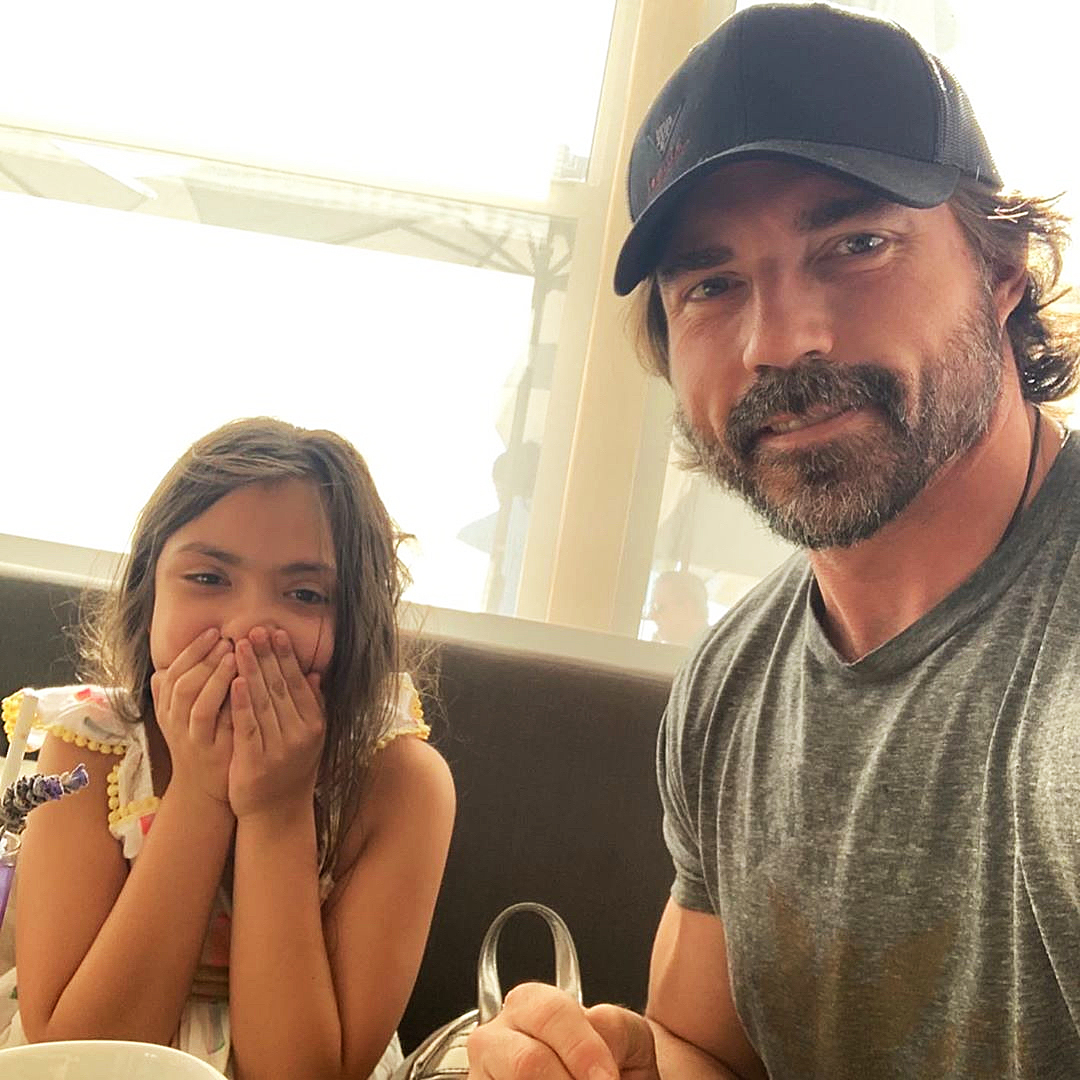 Denise Richards Daughter Eloise Learns How to Say Dad Just Before Fathers Day