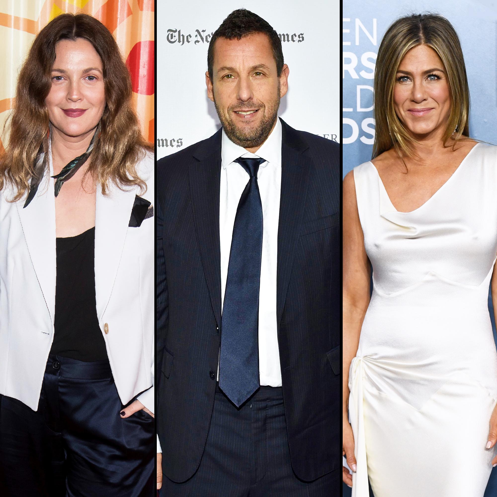 Drew Barrymore Trends After Adam Sandler Jennifer Aniston Diss
