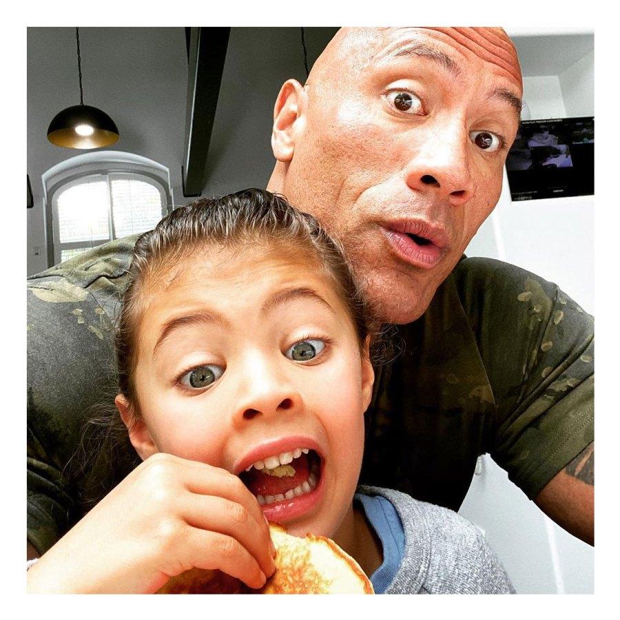 Dwayne The Rock Johnson Instagram Celebrate Fathers Day Food