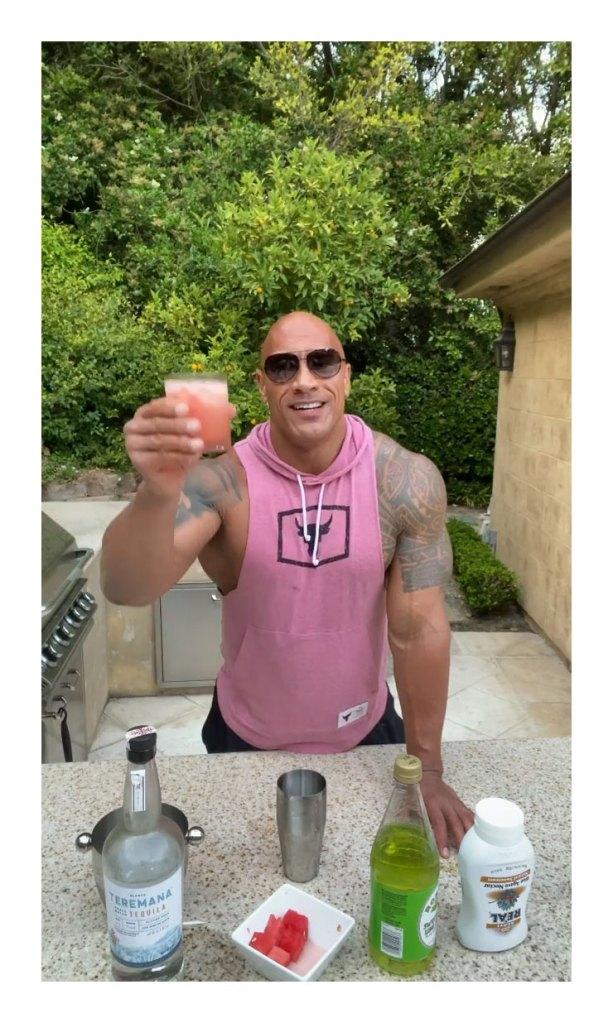 Dwayne The Rock Johnson Watermelon Manarita