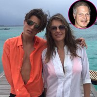 Elizabeth Hurley and Son Damian Pay Tribute to Her Ex Steve Bing