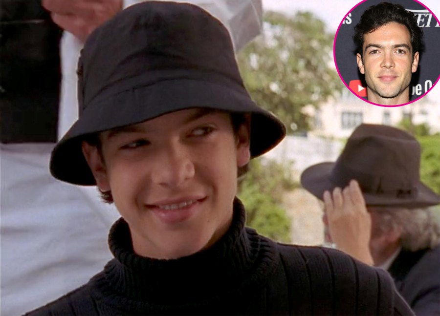 Ethan Peck Michel from Passport to Paris Then and Now