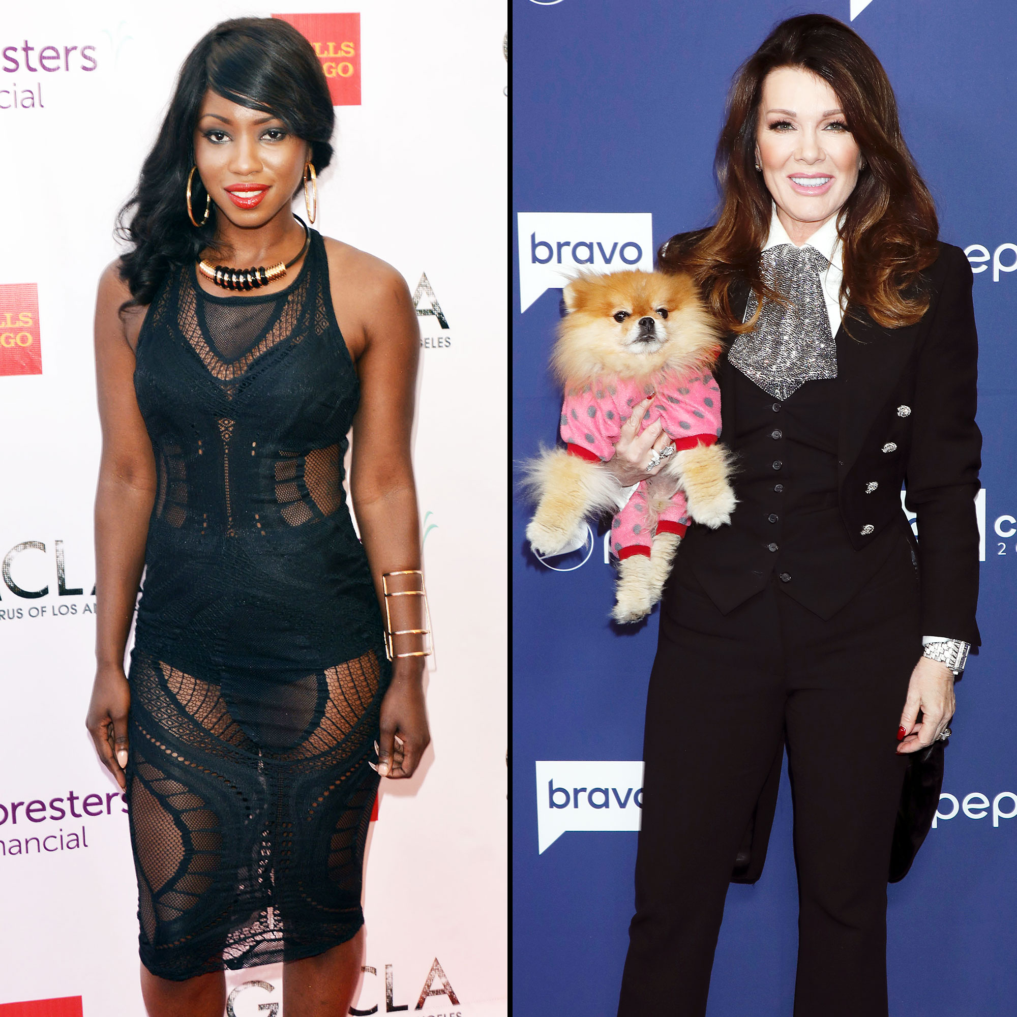Faith Stowers Says Lisa Vanderpump Only Marches for Dogs and Not Humans