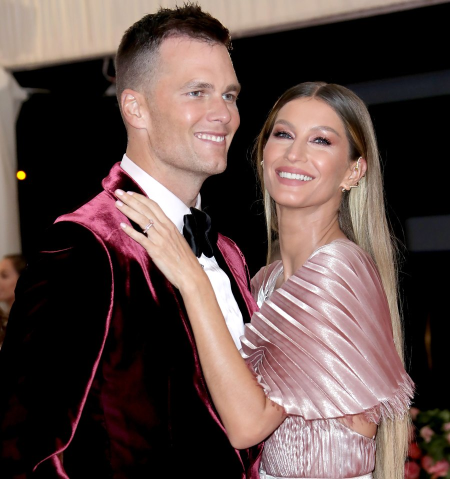 Gisele Bundchen Comments on First Pic of Tom Brady in Tampa Buccaneers Uniform