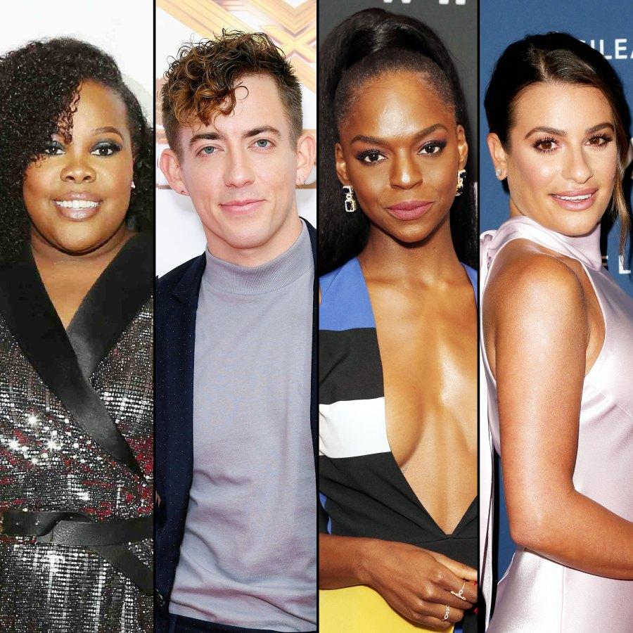Glee Stars Seemingly Weigh in on Lea Michele Drama
