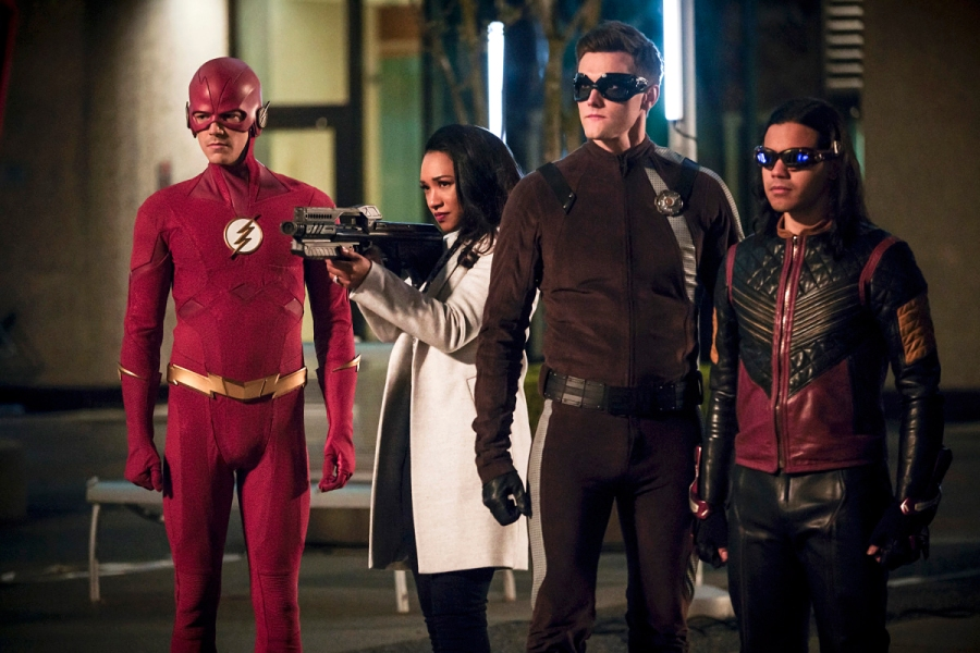 Grant Gustin, Candice Patton, Carlos Valdes and Hartley Sawyer Fired for Racist Tweets The Flash