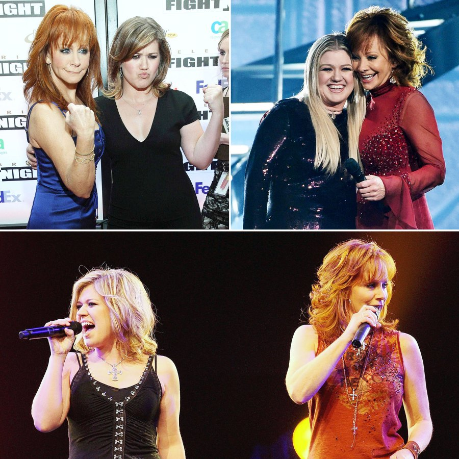 Inside Kelly Clarkson Close Bond With Estranged Husband Brandon Blackstock Former Stepmom Reba McEntire